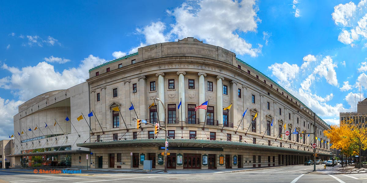 Eastman Theatre and School of Music by Sheridan Vincent