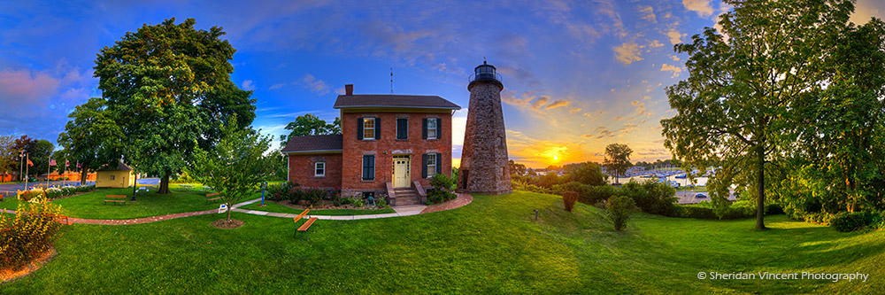 Charlotte Genesee Lighthouse 2013 by Sheridan Vincent